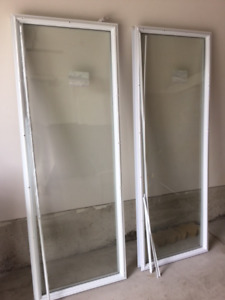 "22""x 64""; One-Lights For Steel Door (2)"