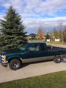 CHEVY CHEYENNE EXTENDED CAB ONLY 143800 K