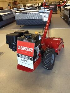 CLEARANCE Craftsman rear-tine tiller