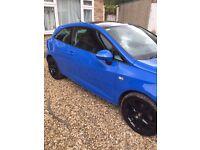 Seat Ibiza 1.6 TDI CR Sport, 3dr, FSH, Parrot hands free, £30 road tax!
