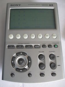 Sony Integrated Remote Control RM-AV3100