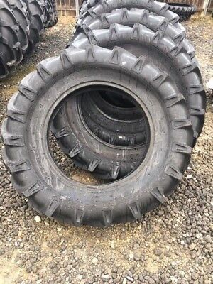 Two 13.6x28 Agstar Tubetype 12ply R1 Tire