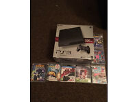 PS3 320GB 2 Controllers & 9 Games