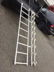 Timber sled ramps (aluminium)