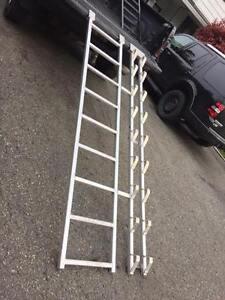 Timber sled ramps (aluminium)