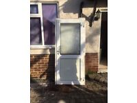 **UPVC DOOR**WITH FRAME**COMES WITH KEY**BARGAIN**NO OFFERS**DOUBLE GLAZING**