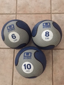 Ultimate Fitness weighted balls