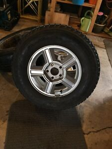 Winter tires on 2003 Ford Escape Rims