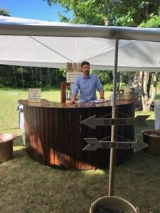 Event outdoor bar