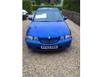 MG ZS 1.6L in Royal Blue, 82600 miles