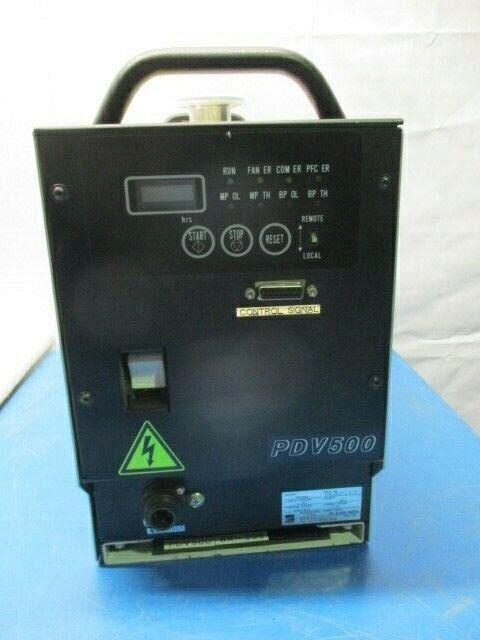 Ebara PDV500 Dry Vacuum Pump, R08S244702 6/10, SanAce140L 109L1424H101, 453644