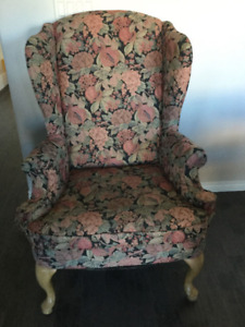 Wingback Chair for Reupholstering