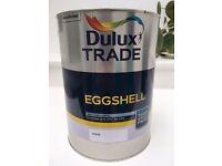 1 x 5 litre pot Dulux Trade eggshell paint brand new