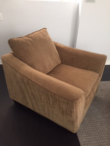SOFA AND MATCHING CHAIR AVAILABLE $150 FOR BOTH!