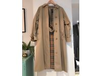 Vintage Burberry Raincoat