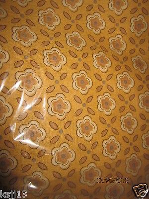 Longaberger Golden Fields Coordinate Fabric 5 Uncut Yards