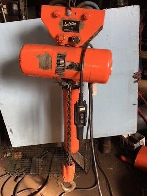 2 Ton C M Lodestar Electric Hoist