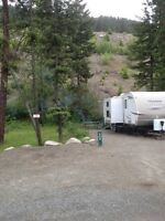 Okanagan fully serviced 1/4 acre lot rental