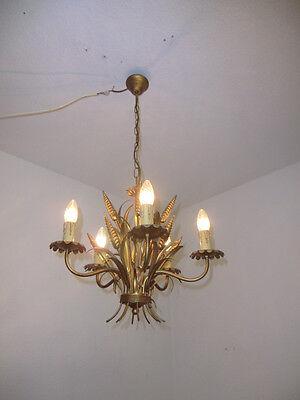 Prunkvolle  Florentiner Ähren Lampe Deckenlampe Leuchter Lüster