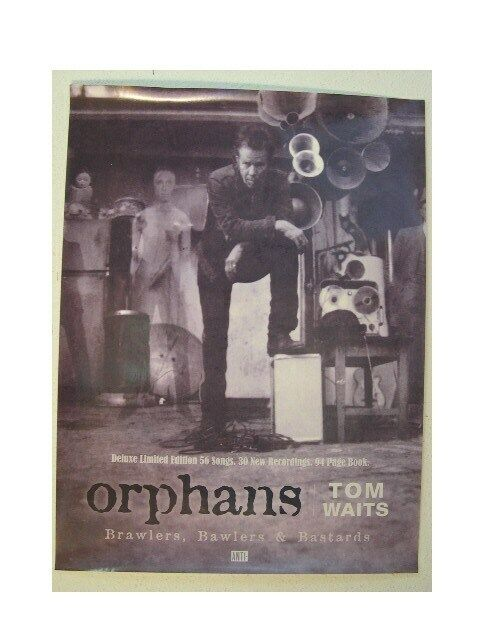 Tom Waits Orphans Poster Promo