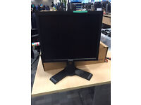 "Dell 17"" LCD TFT monitor / screen + stand DVi VGA input - speaker unit optional"