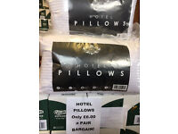 Hotel x 2 pillows
