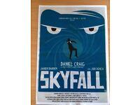 James Bond Movie Posters (Vintage style) pack of 10.