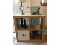 Ikea Kalla Storage Unit & Ikea Lekman Box. In Very Good Condition