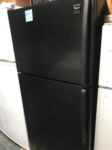 Black Fridge Excellent Condition with Warranty Frost Free