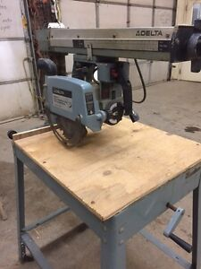 Delta Model 10 Radial Arm Saw