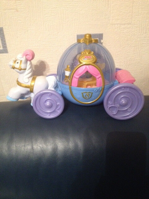 Fisher Price Sound and Light Up Cinderella Carriage