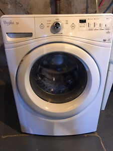 Washer-Dryer Whirlpool Duet White Frontload