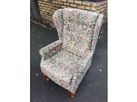 Solid Armchair - good condition