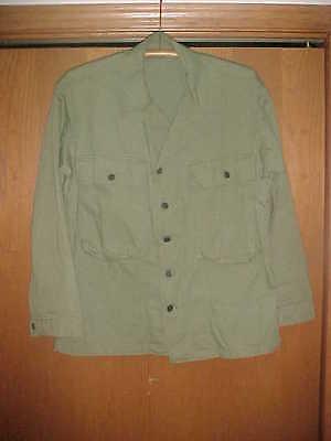 WW2 U.S. Army HBT Jacket