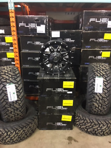 """18"""" Fuel Lethal and 33"""" Gripper MT for Ram 1500 or Tundra"""