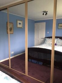 Sliding Mirror Doors (4) £160 ono