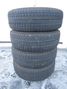 Set Michelin X-Ice Tires on Rims