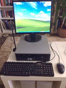 Hewlett Packard DC7800P mini desktop computer