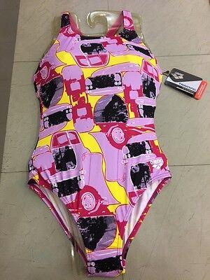 Girl Mechanic Costume (SWIMSUIT COSTUME ARENA BAMBINA GIRL PISCINA G MECHANIC JR SWIM PRO BACK)