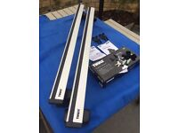 Thule Roof Bars (WingBars 969) with Foot Pack (754) - Audi A5 / S5 Coupe / Sportback