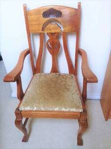 Antique Armchair - A Real Piece of Art Erskineville Inner Sydney Preview
