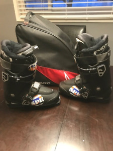 Youth Downhill Ski Package  (Salomon skis, poles, boots)