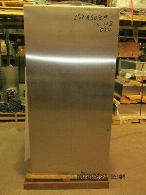 Hoffman Stainless Steel Electrical Enclosure Csd723612ssr 72x36x13 New