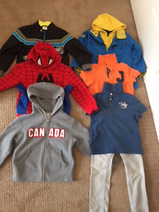 Boy Clothes (Jacket, hoodie, coat etc.- 7 items)