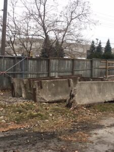 Free Concrete Jersey Barriers