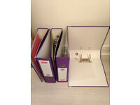 5 x Liver Arch Files (Cardboard folders, boxes for holding documents)