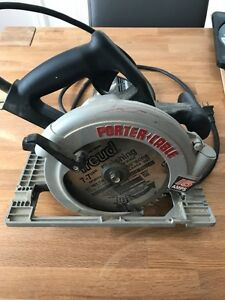 FOR SALE - - MOVING - - Porter Cable Circular Saw