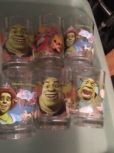 McDonald Shrek Glasses