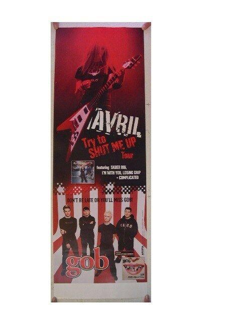 Avril Lavigne & Gob Poster Try And Shut Me Up