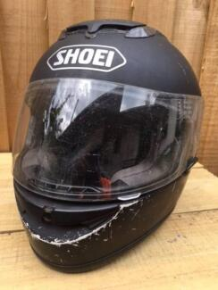 """""""SHOEI"""" Motorcycle Helmet-Full Face Rider Protection-with Visor"""
